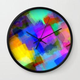 Colors and Joy 2 Wall Clock