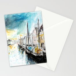 Light in the Harbor  Stationery Cards