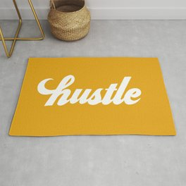 Hustle - Mustard Yellow Rug