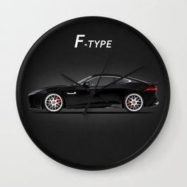 F-Type Wall Clock