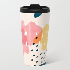 Watermelon Metal Travel Mug