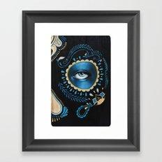Nero Framed Art Print