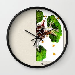 The Little Prince: Beware of Baobabs #2 Wall Clock