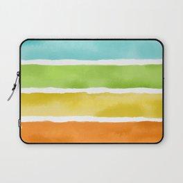 Watercolor Stripes Laptop Sleeve