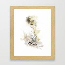 Saintly Framed Art Print