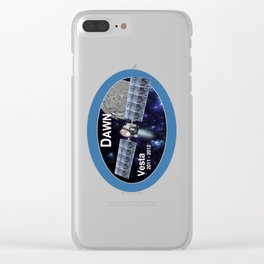 DAWN: Vesta Segment Logo Clear iPhone Case