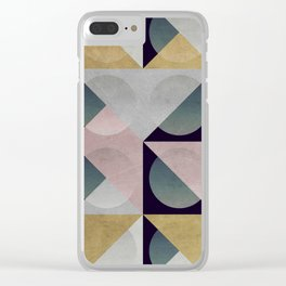 stone play Clear iPhone Case