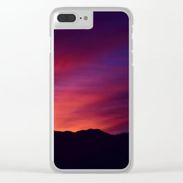 SW Mountain Sunrise - 5 Clear iPhone Case