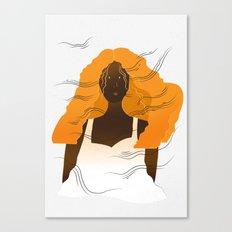 Sunshine & Wind Portrait Canvas Print