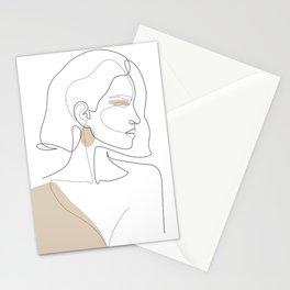 Latte Girl Stationery Cards