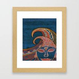 Zen Waves Surf Art by Lauren Tannehill Art Framed Art Print