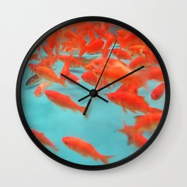 Goldfish Keep Swimming Wall Clock