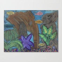 aquarium room Canvas Print