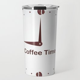 It is the Coffee time - I love Coffee Travel Mug