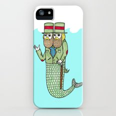 Portrait of a two headed merman Slim Case iPhone (5, 5s)