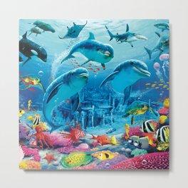 Beautifull Sea Metal Print