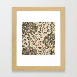 William Morris Kelmscott Tree Framed Art Print