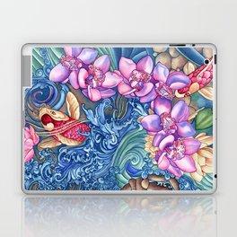 Orchid Splash Laptop & iPad Skin