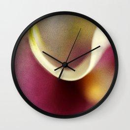 Calla Lily AbstractIII Wall Clock
