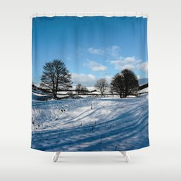 Sparrow pit the peaks. Shower Curtain