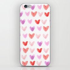 Love Hearts iPhone & iPod Skin
