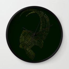 I am Loki, of Asgard Wall Clock