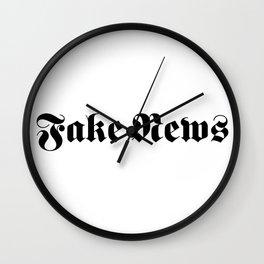 Fake News Wall Clock