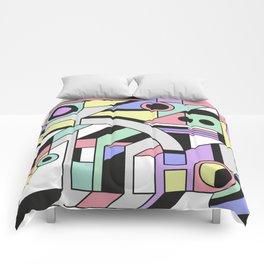 De Stijl Abstract Geometric Artwork Comforters