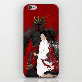 Samurai Warrior iPhone Skin