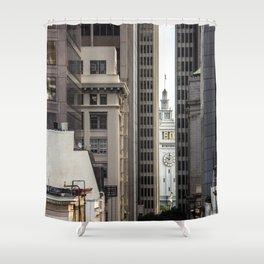 Embarcadero from Chinatown Shower Curtain
