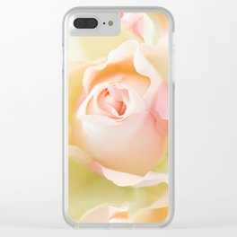 Rosebud in Pastel Colors #decor #society6 #buyart Clear iPhone Case