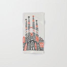 Sagrada Familia Hand & Bath Towel