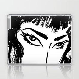 M with bangs Laptop & iPad Skin