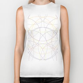 Circle instersections Biker Tank