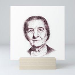 Golda Meir Mini Art Print