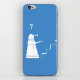 The problem with Daleks. iPhone Skin