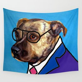 Dog School Wall Tapestry