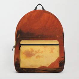 Profile Peakk From Profile Lake New Hampshire 1869 By Thomas Hill | Reproduction Backpack