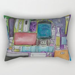 Ecig Tetris Rectangular Pillow
