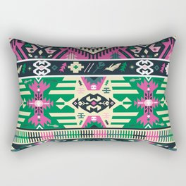 Fancy abstract geometric vector pattern in tribal style Rectangular Pillow