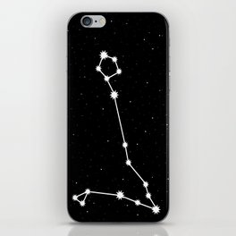 Pisces Astrology Star Sign Night Sky iPhone Skin