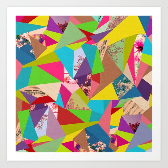 Colorful Thoughts Art Print