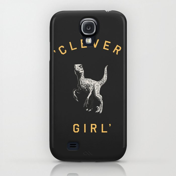 Clever Girl (Dark) iPhone Case