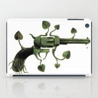 gun iPad Cases featuring Gun by mariotarrago