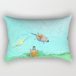 Pond Life Rectangular Pillow