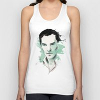 benedict cumberbatch Tank Tops featuring Benedict Cumberbatch by charlotvanh