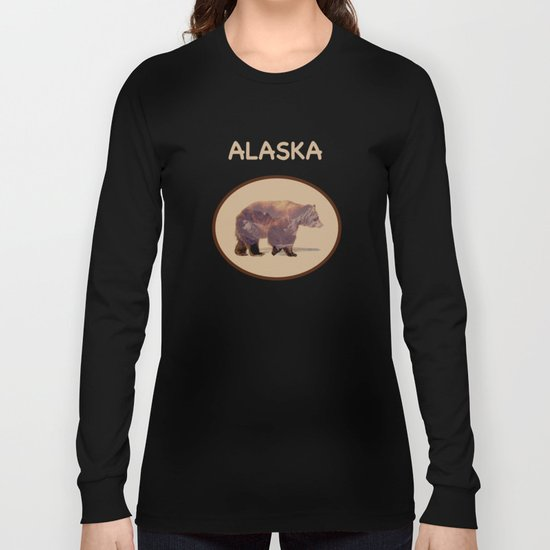 Glacier Grizzly Long Sleeve T-shirt