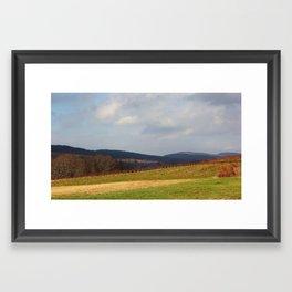 Quiet Storm  Framed Art Print