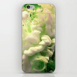 Green envy iPhone Skin