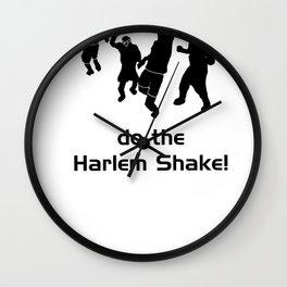 Harlem Shake Wall Clock